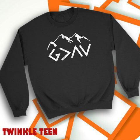 b9b350ccec God Is Greater Highs And Lows Men'S Sweatshirt