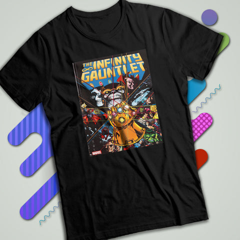 Guardians Of The Galaxy Thanos The Infinity Gauntlet Men S T Shirt c73cb22de