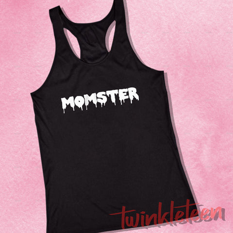 4f7dc42ce0702 Momster Funny Halloween Funny Mom Women S Tank Top