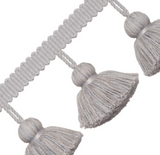 Italian Jumbo Tassel Fringe: Available in 6 Colors - Annabel Bleu