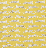 Leaping Leopards: Schumacher Home Decor & Upholstery Fabric by the yard - Annabel Bleu