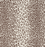 Schumacher Fabric by the yard: Iconic Leopard, Brown - Annabel Bleu
