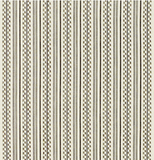 Schumacher Fabric by the yard: Jack Stripe, Black & Cream - Annabel Bleu