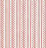 Schumacher Fabric by the yard: Jack Stripe, Red - Annabel Bleu
