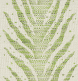 Moss: Creeping Fern Woven Schumacher fabric by the yard - Annabel Bleu