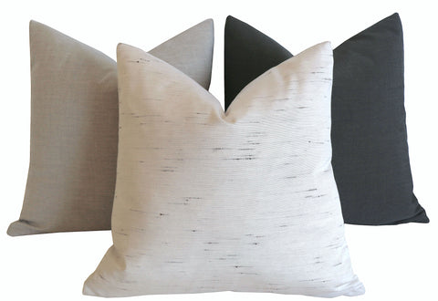Sunbrella Solids: Outdoor Pillow cover / ANY SIZE Outdoor Cushion / Outdoor Pillow Cover / Outdoor Cushion Cover - Annabel Bleu