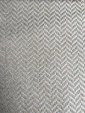 7 yards Light Grey upholstery fabric / Gray White Grasscloth / Woven Grey Fabric / Heavy weight Upholstery material - Annabel Bleu
