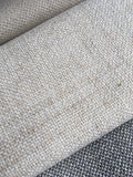 7 yards Hemp Hmong upholstery fabric / Light beige Linen / Woven Hmong Fabric / Heavy weight Upholstery material - Annabel Bleu