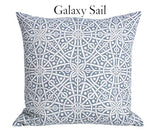 Sail Blue Collection / 20x20 Pillow Cover / Throw Pillow Covers 20x20 / Pillow Cover 20x20 - Annabel Bleu