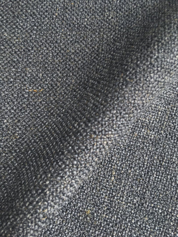7 yards Dark Grey Linen / Ash Grey fabric / Grey Decor Fabric / Upholstery Linen by the yard / Thick Grey Fabric / Linen Upholstery - Annabel Bleu