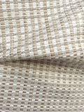 7 yards Beige Taupe Fabric / Grasscloth Upholstery / Sisal Fabric / Woven Beige Fabric / Heavy weight Upholstery Fabric / Sand - Annabel Bleu