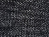 7 yards Black upholstery fabric / Lava Sand Grasscloth / Woven Black Fabric / Heavy weight Upholstery material - Annabel Bleu