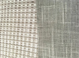 7 yards Stone Grey Upholstery / Grasscloth Upholstery / Sisal Fabric / Woven Grey Fabric / Heavy weight Fabric / Stone - Annabel Bleu