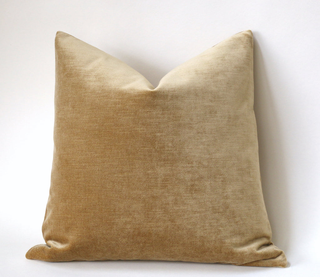 Antique Gold Pillow Cover Gold 20x20 Pillow Cover