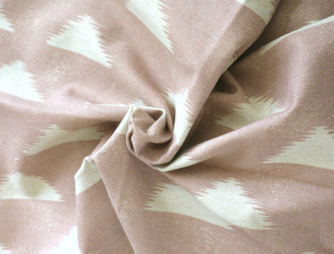 Boho Mauve Upholstery Fabric by the yard / Home Decor Fabric / Desert Upholstery Fabric / Medium weight fabric / Pink Mudcloth Fabric - Annabel Bleu