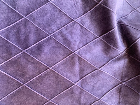 Purple Osborne & Little Upholstery Remnant 1.61 Yards / Purple Fabric Remnant / Purple Home Decor Fabric / Purple Velvet Fabric - Annabel Bleu