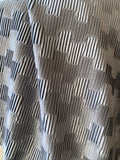 7 yards Pleated Velvet Upholstery Fabric / Spruce Green or Dove Grey / Dove Grey Velvet by the yard - Annabel Bleu