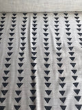 Mudcloth Upholstery Fabric by the yard / Home Decor Fabric / Beige Cream Black Upholstery Fabric / Cream Black Mudcloth Fabric - Annabel Bleu