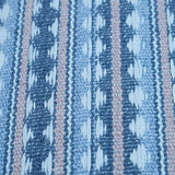 Schumacher Fabric by the yard: TARNBY STRIPE, Sky - Annabel Bleu