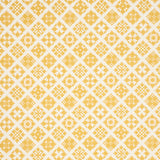 Daffodil Yellow Schumacher Tristan Quilted Fabric by the Yard - Annabel Bleu