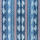 Tarnby Stripe Pillow: Blue and Pink Pillow Cover / Schumacher Pillow Case / Schumacher Sky Blue Pillow Cover - Annabel Bleu