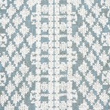 Wentworth Embroidery: Schumacher Fabric by the yard - Annabel Bleu