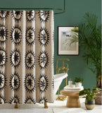 Justina Blakeney Soleil Shower Curtain - Annabel Bleu