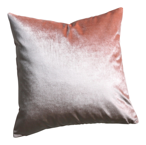 Mare: A Blush Velvet Pillow Cover - Annabel Bleu