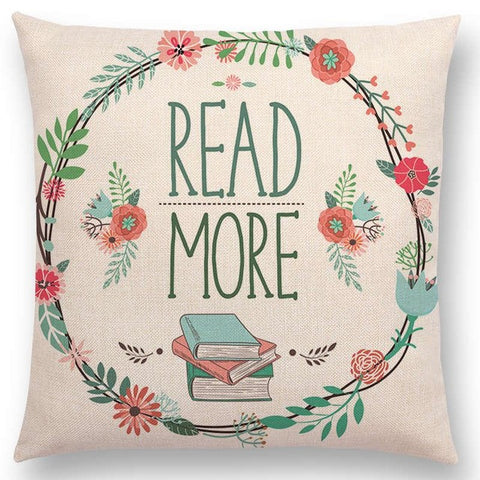 Read: Pillow Covers for Bookish Teens - Annabel Bleu
