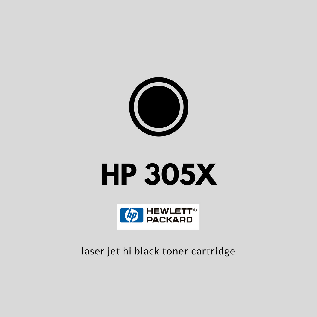 HP 305X (CE410X) | OEM | Hi Black Laser Jet Toner Cartridge