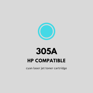 HP 305A | Compatible | Cyan Laser Jet Toner Cartridge