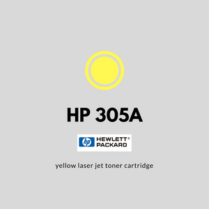 HP 305A (CE412A) | OEM | Yellow Original Laser Jet Toner Cartridge