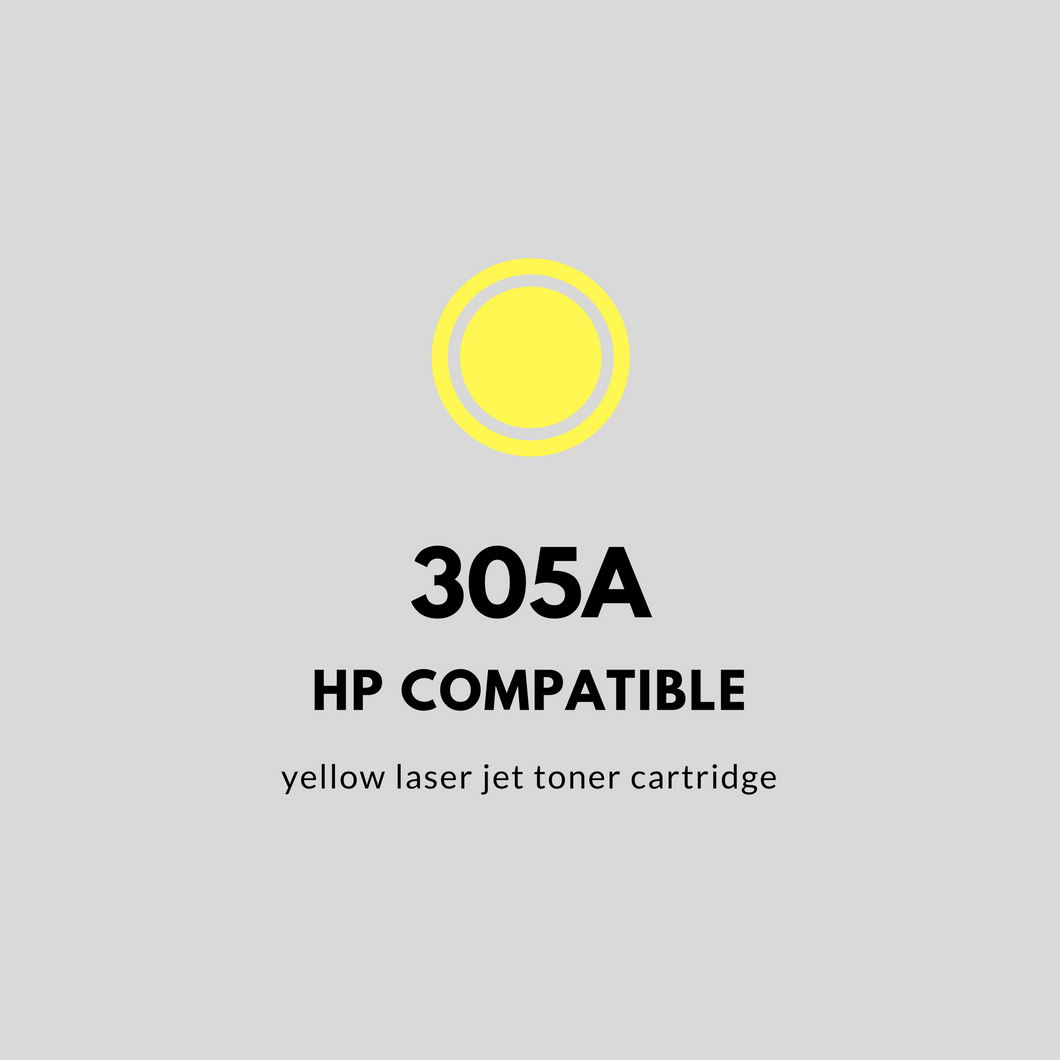 HP 305A | Compatible | Yellow Laser Jet Toner Cartridge