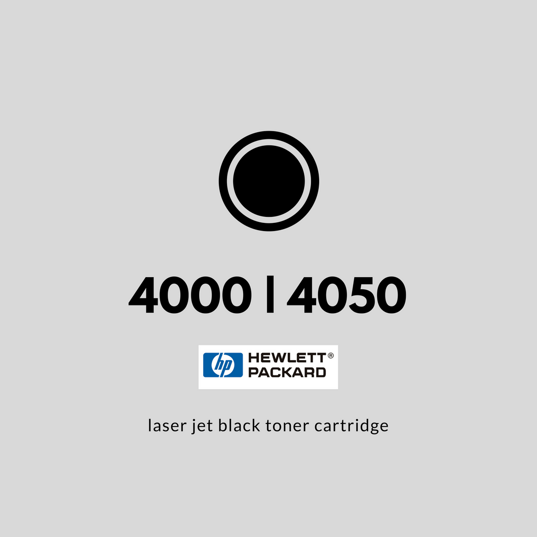 HP LaserJet 4000, 4050 Series | OEM | Black Toner Cartridge