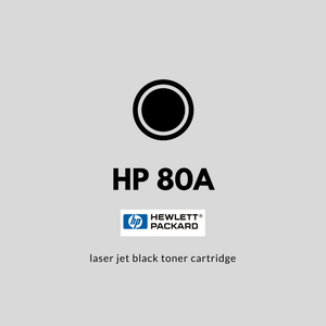 HP 80A (CF280A) | OEM |  Black Toner Cartridge