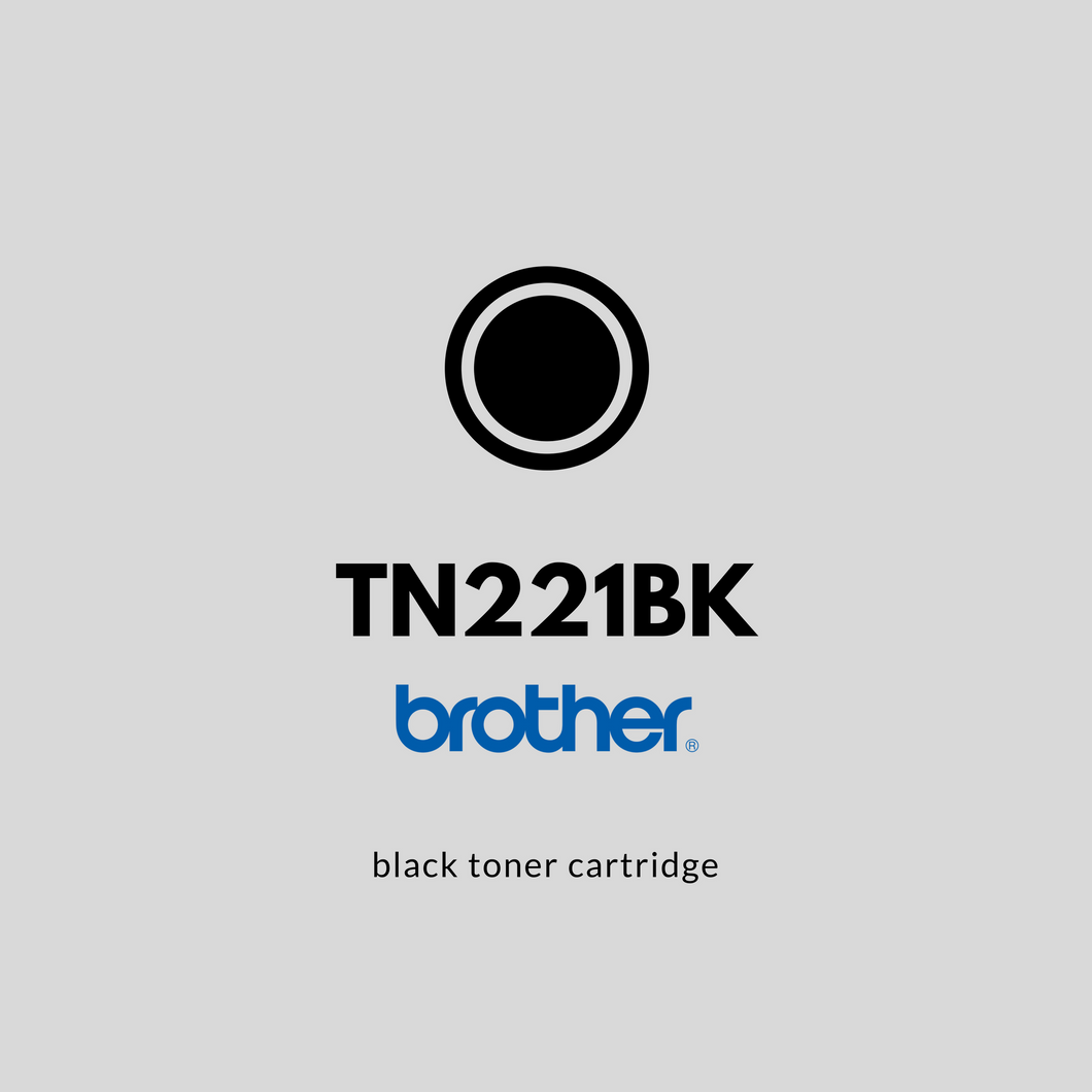Brother TN221BK  | OEM | Black Toner Cartridge