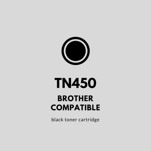 Brother TN450 Compatible | Black Toner Cartridge