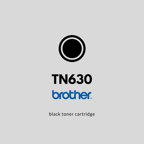 Brother TN630  | OEM | Black Toner Cartridge
