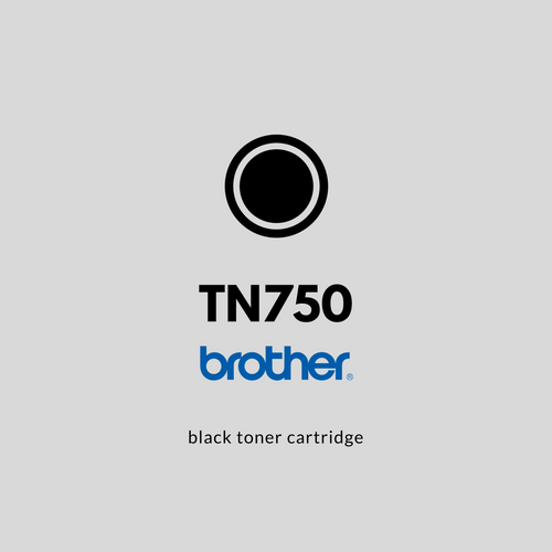 Brother TN750  | OEM | Black Toner Cartridge