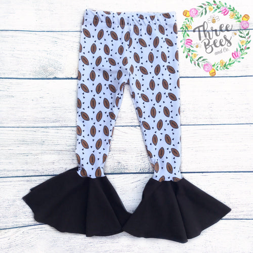 Football flutter pants