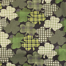 Load image into Gallery viewer, Black and plaid shamrock Lola Dress