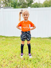 Load image into Gallery viewer, Wicked Halloween black high waisted shorties