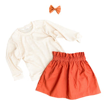 Load image into Gallery viewer, High waisted fall skirt
