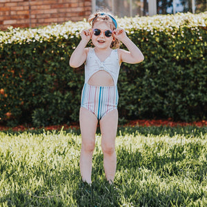 Arrows and stripes Skylar Swim suit