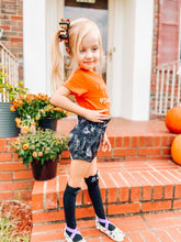 Load image into Gallery viewer, Halloween high waisted shorties or skirt