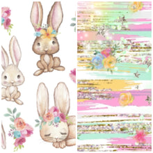 Load image into Gallery viewer, Easter bunny twirl Leo preorder