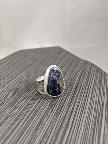 Pietersite Cuttlebone Statement Ring