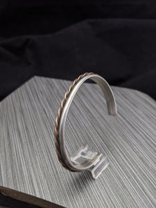 Copper Twist Cuff