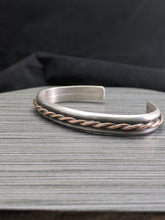 Load image into Gallery viewer, Copper Twist Cuff