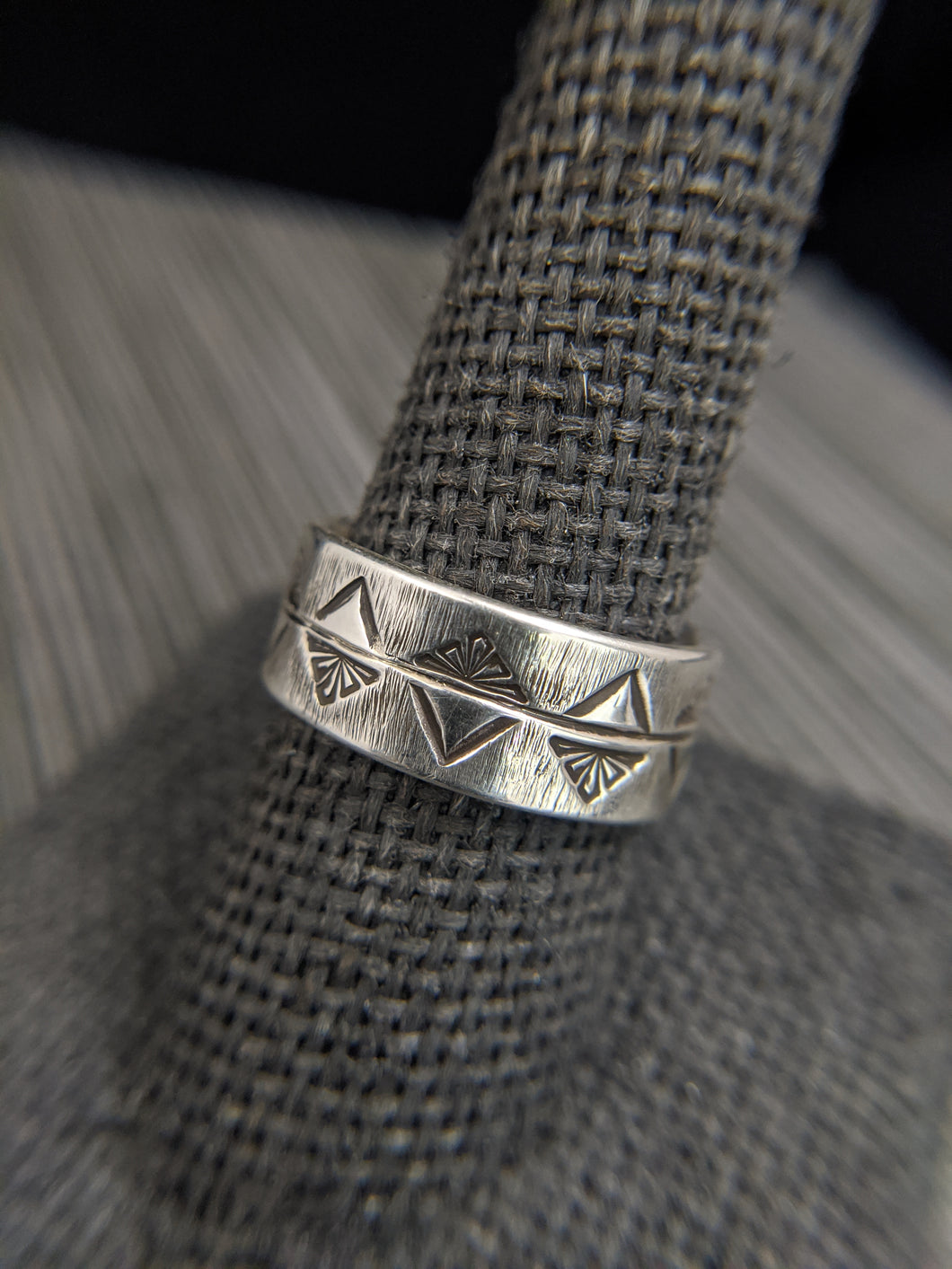 Tri-Stamped Silver